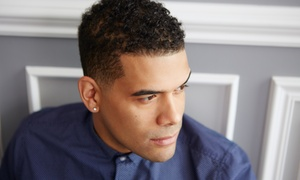 Creative Edge Barbering: Men's Haircut with Optional Traditional Hot Towel Shave at Creative Edge Barbering (Up to 61% Off)