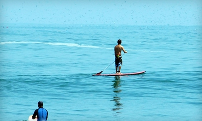 American Watersports - Pompano Beach: One- or Two-Hour Standup-Paddleboard Rental at American Watersports Inc (Up to 56% Off)