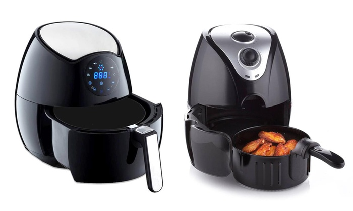 Rotary or Digital Oil-Free Electric Air Fryer