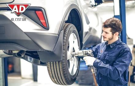 Bon d'achat de 50 € donnant droit à 100 € dans les garages AD - Entretien et Réparation Auto
