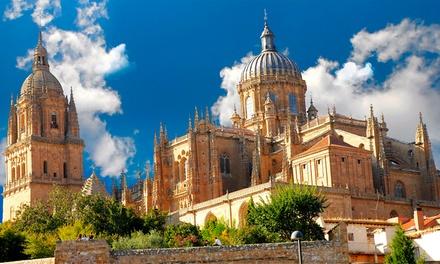 Salamanca: 1 o 2 noches para 2 con detalle de bienvenida y late check-out en Hotel Puente Romano de Salamanca 4*