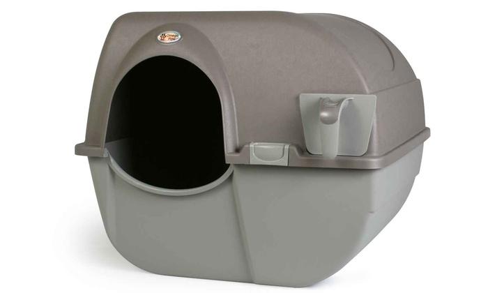 omega paw roll u0027n clean litter box omega paw roll u0027