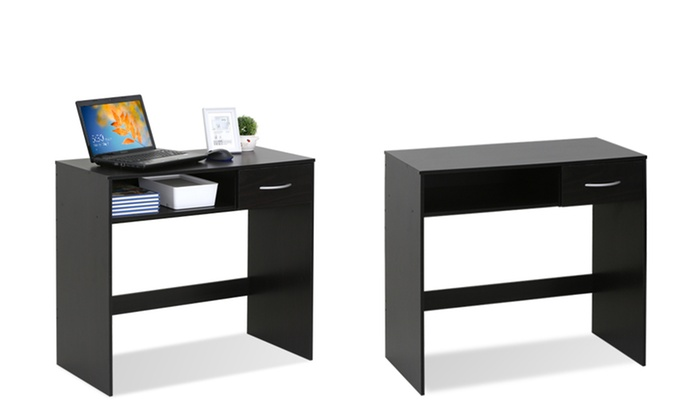 Furinno Jaya Computer Desk With Drawer