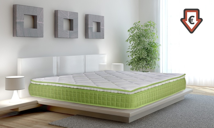 matelas m moire de forme avec surmatelas groupon. Black Bedroom Furniture Sets. Home Design Ideas