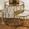 Nested Metal Round Tables (Set of 2)