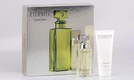 Coffret Eternity De Calvin Klein Eau De Parfum 50ml Et Crème
