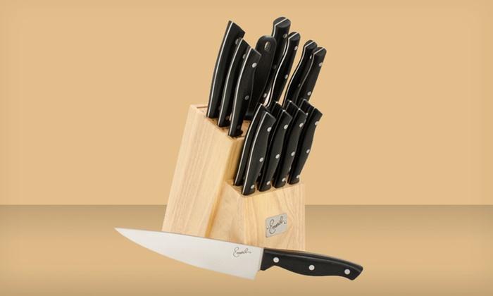Emeril 18 Piece Knife Block Set Groupon