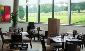 4* Norton House Hotel: Two-Course Lunch For Two or Four from £29 at 4* Norton House Spa (Up to 49% Off)