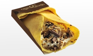 Juice Point: Sweet-Choco-Kebab oder -Waffel inkl. Sauce und Toppings bei Juice Point (bis zu 31% sparen*)