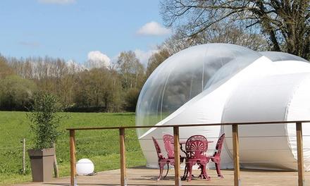 Proche Puy du Fou : 1 ou 2 nuits en bulle avec petit-déjeuner et repas et verre de bienvenue pour 2 à La Belle Etoile