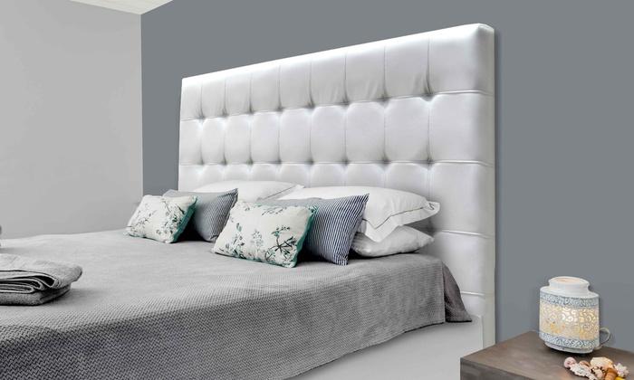 t te de lit capitonn e 110 cm groupon shopping. Black Bedroom Furniture Sets. Home Design Ideas