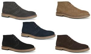 Joseph Abboud Men's Suede Chukka Boots
