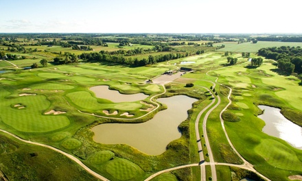 18-Hole Round of Golf for Two or Four with Cart and Range Balls at The Creeks at Ivy Acres (Up to 57% Off)