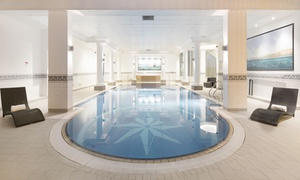 Grand Harbour Hotel: Spa Day Package with Treatment, Marco Pierre White Dining and Optional Prosecco at Grand Harbour Hotel (Up to 47% Off)