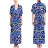 T-Bags Los Angeles Women's Printed Short-Sleeve Maxi Dress