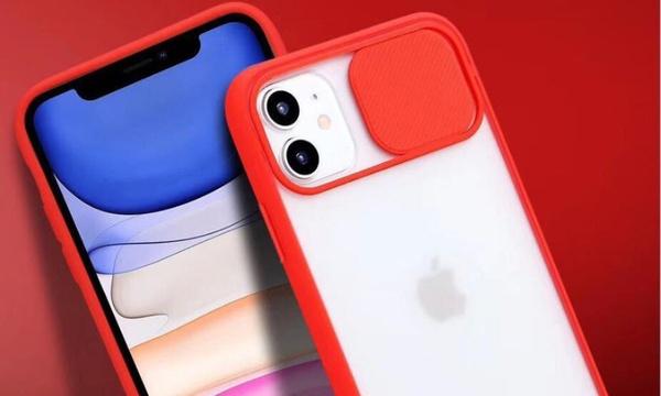 Coque compatible iPhone avec cache objectif