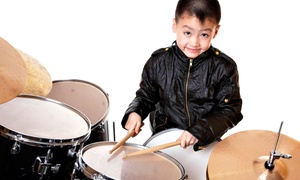 Donn Bennett Drum Studio: Four Private Music Lessons or Instruments at Donn Bennett Drum Studio (Up to 50% Off). Three Options Available.