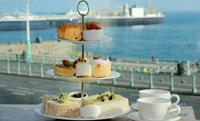 image for Afternoon Tea for Two with Spa Access and 6 hours Parking at 4* Jurys Inn Brighton Waterfront