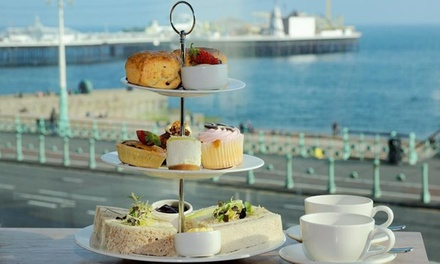 Afternoon Tea for Two with Spa Access and All-Day Parking at 4* Jurys Inn Brighton Waterfront