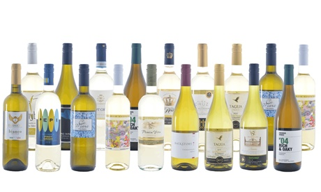 6, 12, 15, or 18-Pack of Fall White Wines from WineOnSale (Up to 75% Off)