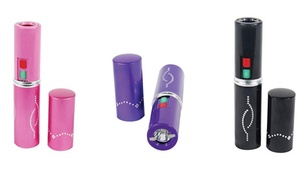 Blinged Out Lipstick Rechargeable 1.5 Million Volt Stun Gun