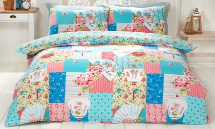 Rapport Home Osaka Patchwork Duvet Set
