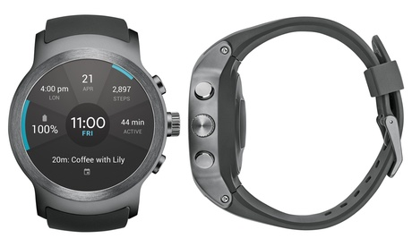 LG Smart Watch Sport W280A for AT with Android Wear 2.0 (Refurbished A-Grade) photo