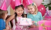 60% Off a Kids' Birthday, Spa, or Tea Party Package