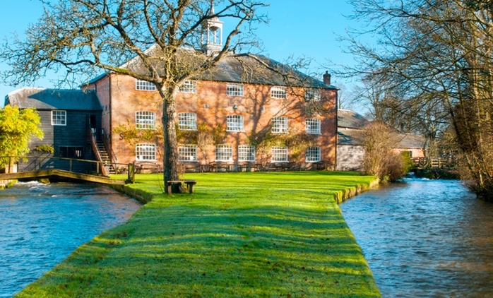 Entry and Guide Book For Two Adults (£5) or Family (£7) to Whitchurch Silk Mill (Up to 62% Off)