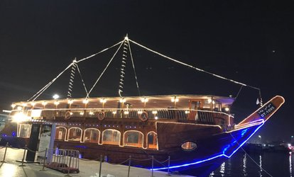 Dhow Dinner Cruise for Up to Ten at Extreme Arabia Tours & Safari