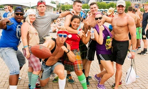 National Beer Mile: One, Two, or Four General Admission or VIP Tickets to National Beer Mile on October 29 (Up to 50% Off)