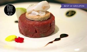 Muu House: Degustazione di tartare e carne selezionata più bottiglia di vino al ristorante Muu House (sconto fino a 61%)
