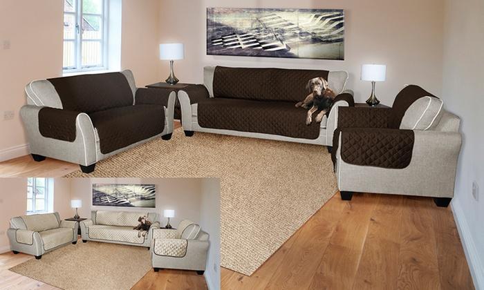 Reversible Water Resistant Pet Furniture Protectors : Reversible Water Resistant  Pet Furniture Protectors ...