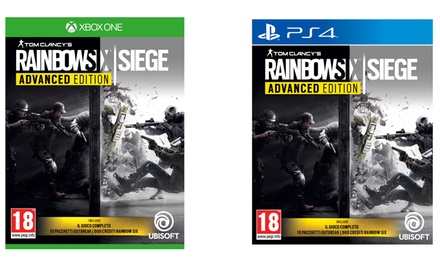 Rainbow Six Advanced Edition Ubisoft disponibile per PS4 o Xbox One