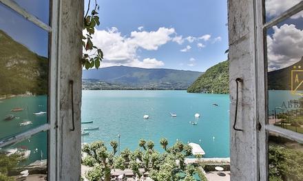 Lac d'Annecy : 1 ou 2 nuits avec spa, option dîner à l'Abbaye de Talloires 4*