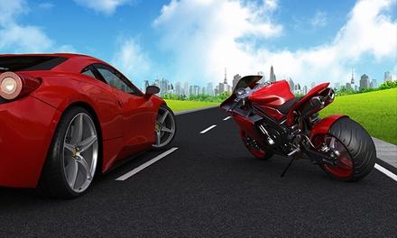 Curso para obtener el carné de moto A o A2 desde 29,95 € o el de coche con 8 o 15 prácticas desde 49,95 € en 4 centros