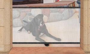 Barrière amovible pour chien