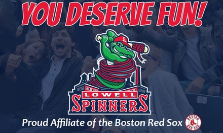 Lowell Spinners Baseball Game (June 18 Through September 3)