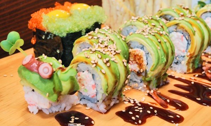 39 ohana sushi and hawaiian food ohana belltown groupon for Aloha asian cuisine
