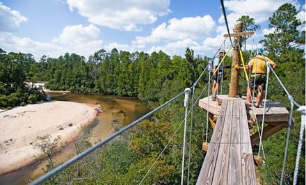 Groupon Deal: 2- or 3-Night Stay for Up to Four with Optional Sports Package at Adventures Unlimited in Northwest Florida