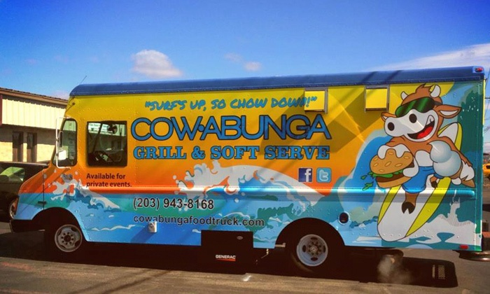 Cowabunga Food Truck - Fairfield County: Up to $205 Toward Catering from Cowabunga Food Truck. Two Options Available.