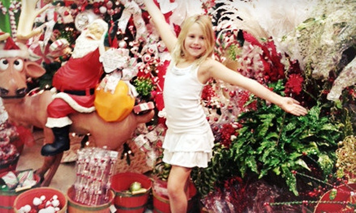 Crafts & Stuff - Multiple Locations: Holiday Decorations or Christmas Trees at Crafts & Stuff (60% Off)