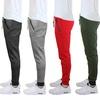 Men's Slim Fit Solid & Marled Tech Fleece Joggers w/ Zippered Pockets