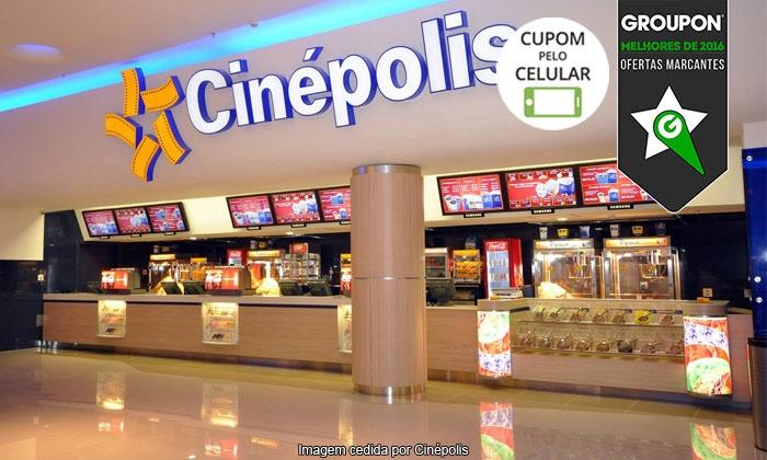 Cinépolis - Vários Locais: Cinépolis – 44 endereços: ingresso em sala 2D ou 3D, todos os dias da semana