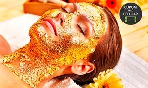 Padma Podologia e Estética: Padma Podologia e Estética - Centro: limpeza de pele + peeling de diamante + máscara de ouro + alta frequência