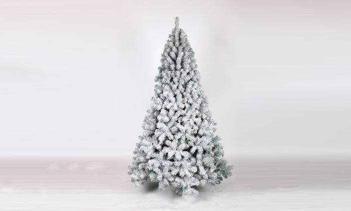 Regali Di Natale Groupon.Albero Di Natale Ecologico Innevato Fiocco Casagarden Disponibile In 4 Misure
