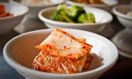 Korean Barbecue and Drinks at Shilla Restaurant (Up 75% Off). Three Options Available.