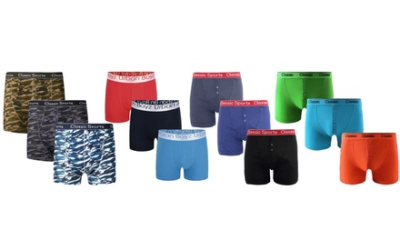 12Pack of Men's Boxers in Choice of Design and Size