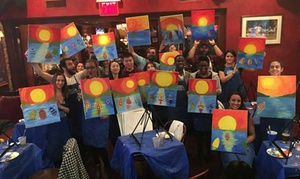 Painting Circle: Paint Class for One, Two, or Four at Painting Circle (Up to 55% Off)