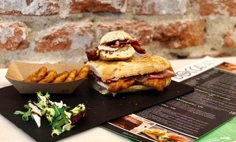 Menú para dos con combo de entrantes o ensalada, principal, postre y bebida desde 16,95 € en Boccapan Oferta en Groupon